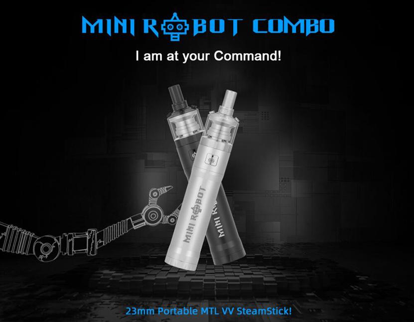 Mini Robot Combo Vape Kit Portable