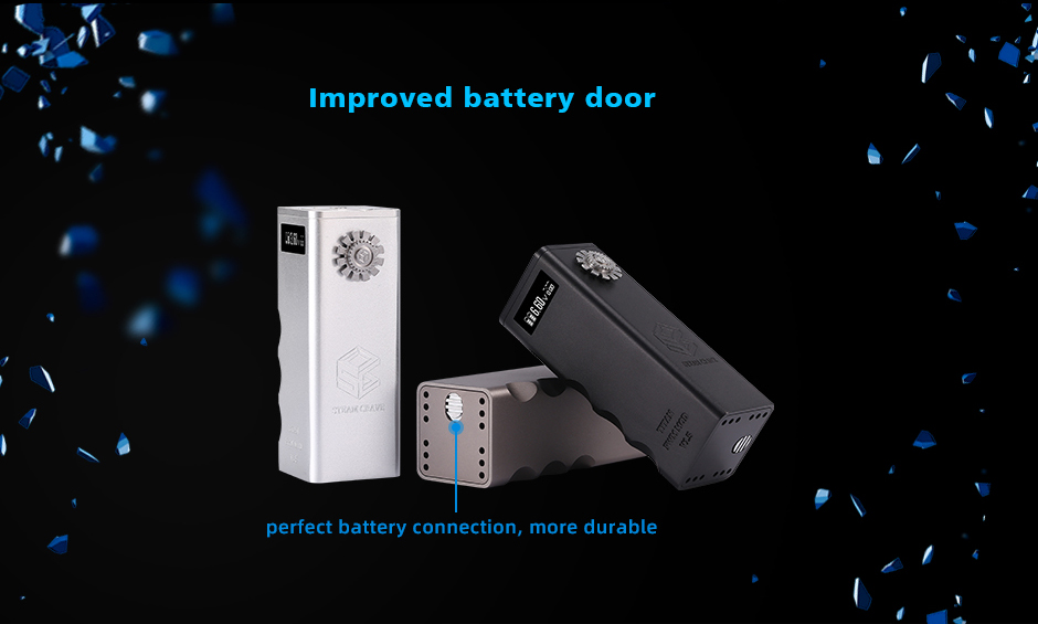 Steam Crave Titan PWM Box Mod V1.5 Battery Door