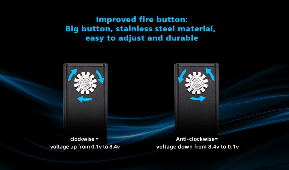 Steam Crave Titan PWM VV Mod V1.5 Button