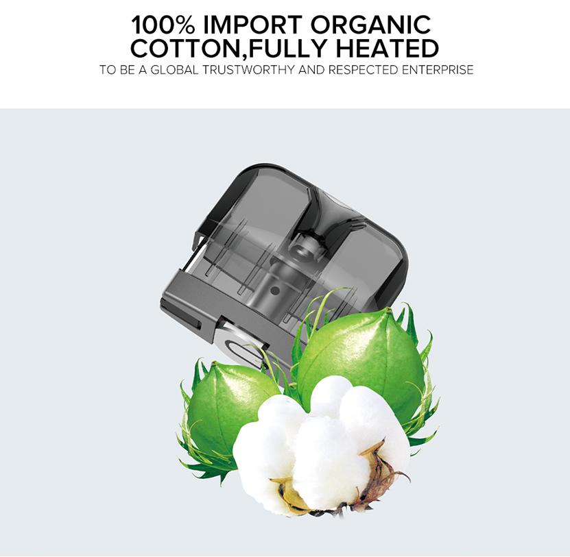 Suorin Reno Starter Kit 100% Import Organic cotton