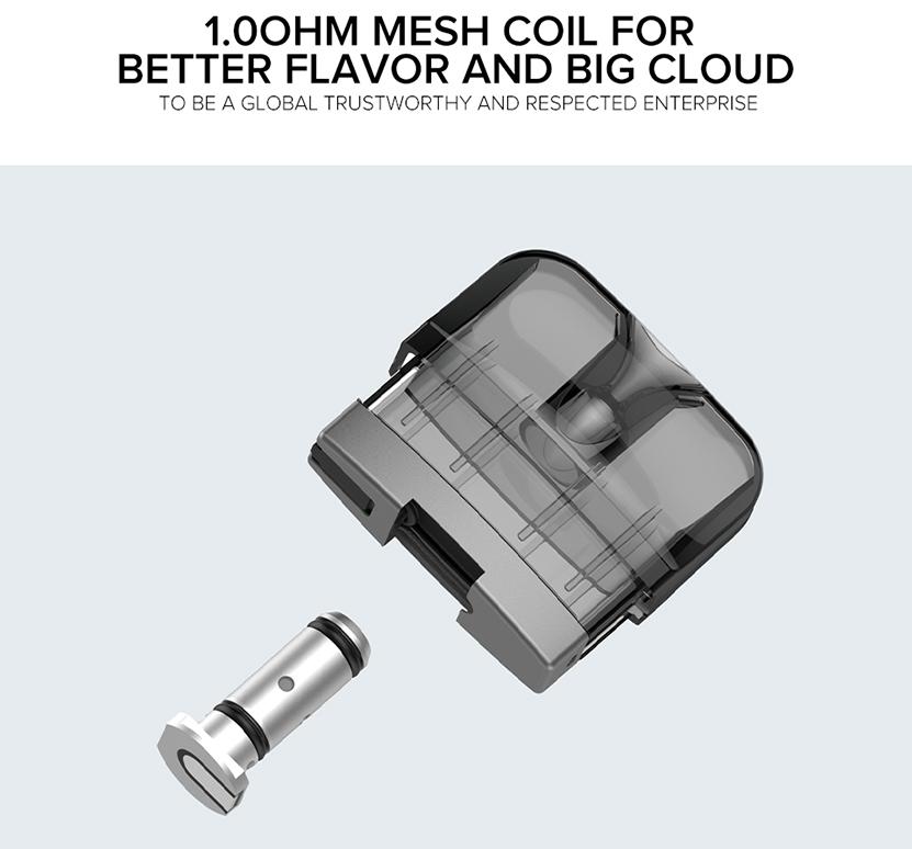 Suorin Reno Replacement Mesh Coil 5pcs 1.0ohm mesh coil