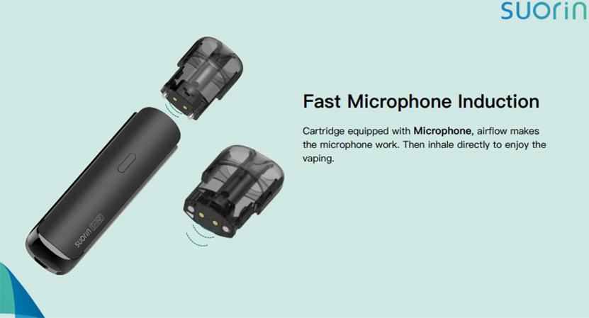 Suorin Shine Pod Cartridge Fast Microphone