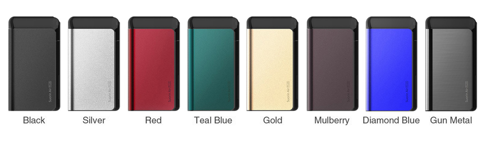 Air Plus Pod Starter Kit Colors