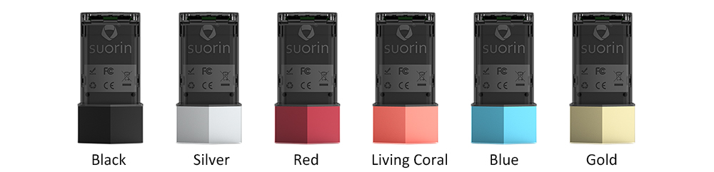 Suorin Edge Battery Colors