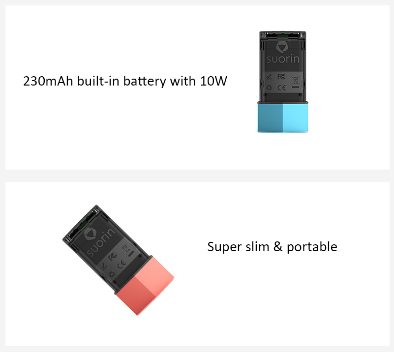 Suorin Edge Battery Features