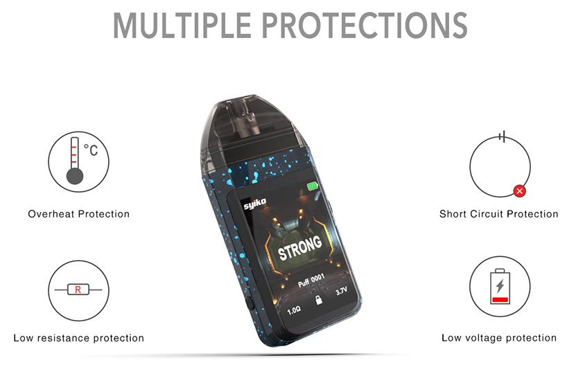 Syiko SE Pod System Kit Proctection