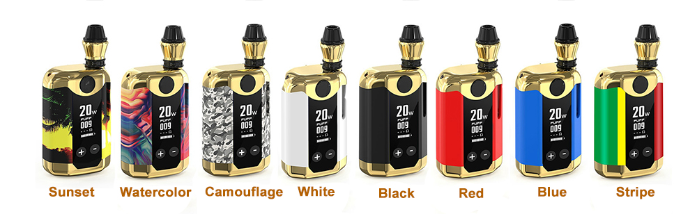 TH-420 V BOX Vape Kit colors