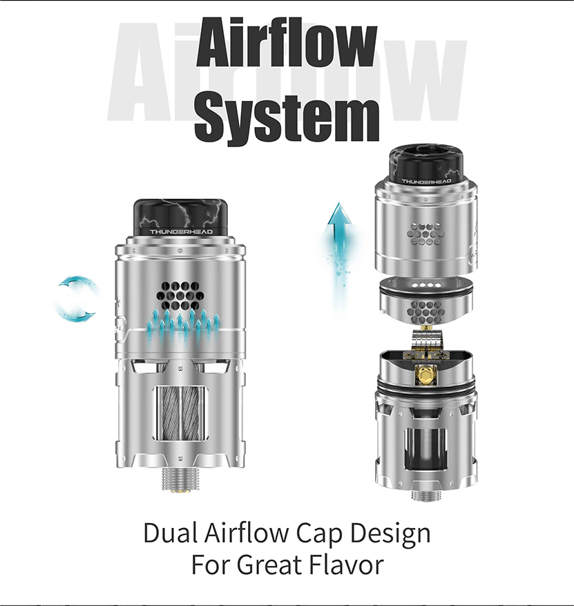 THC Artemis BF RDTA Airflow