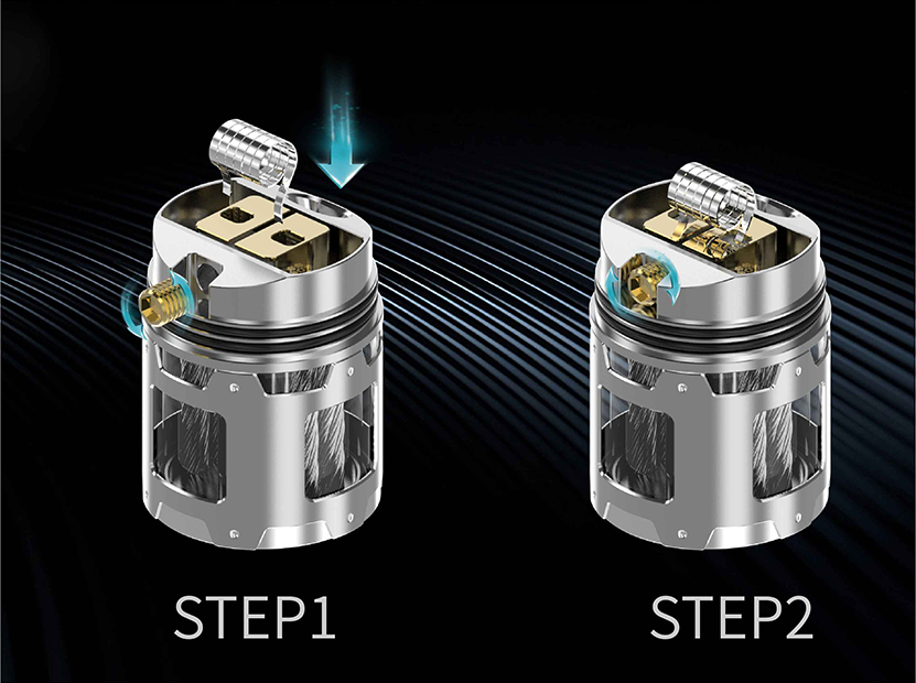THC Artemis BF RDTA Coil Replacement