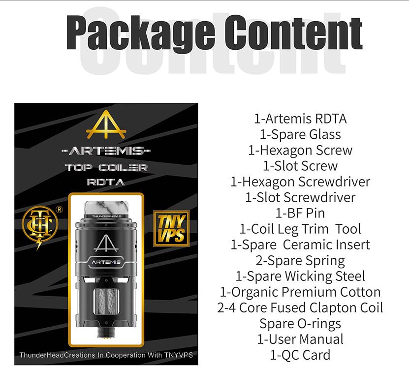 Artemis RDTA Package