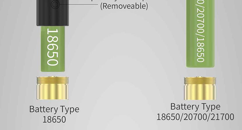 THC Tauren Hybrid Mech Mod Feature 2