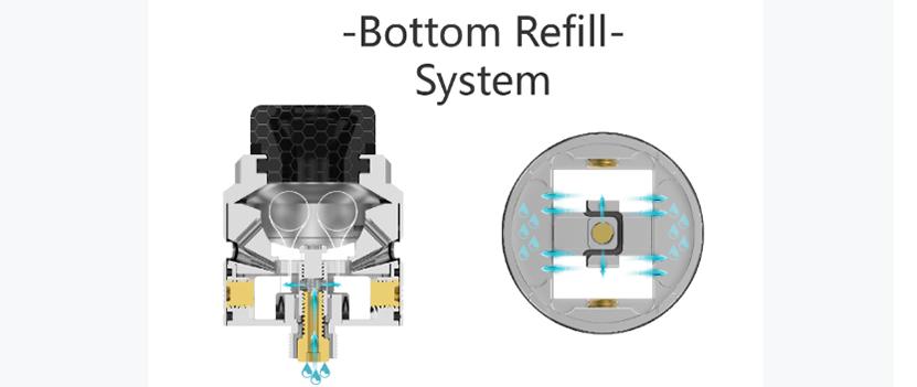 THC Tauren Max RDA airflow