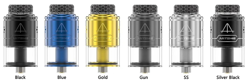 THC Artemis RDTA V1.5 Color