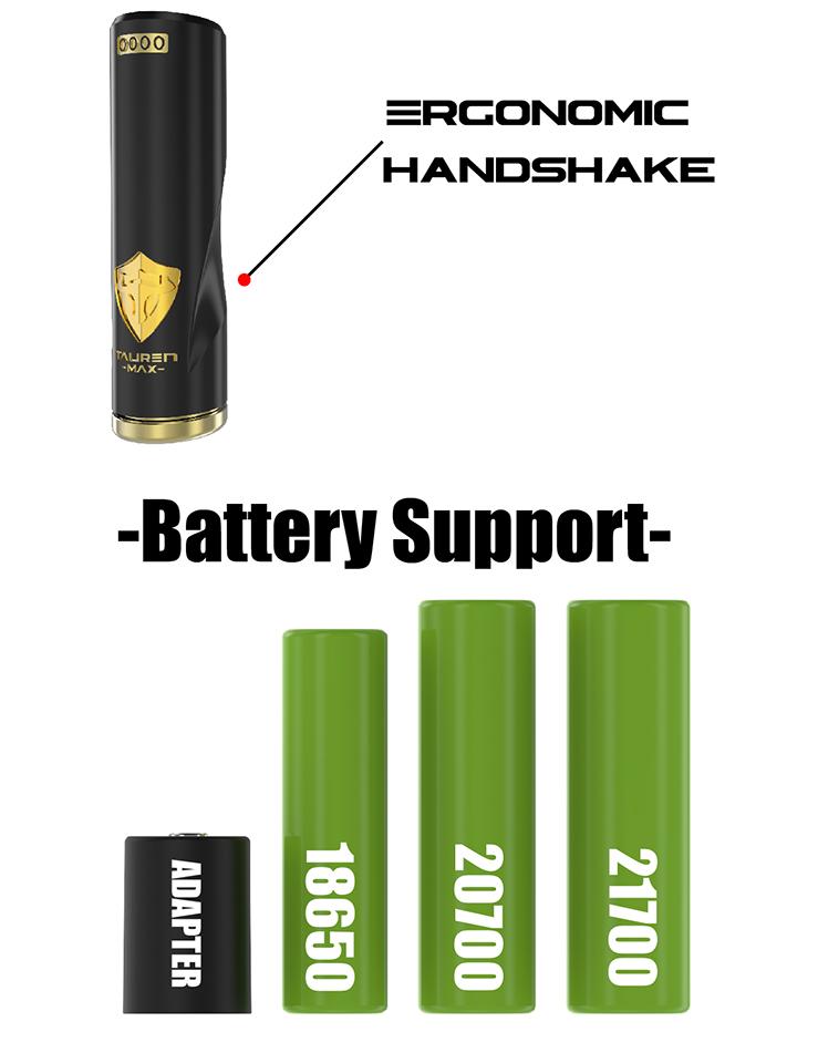 THC Tauren Max Mech MOD Battery