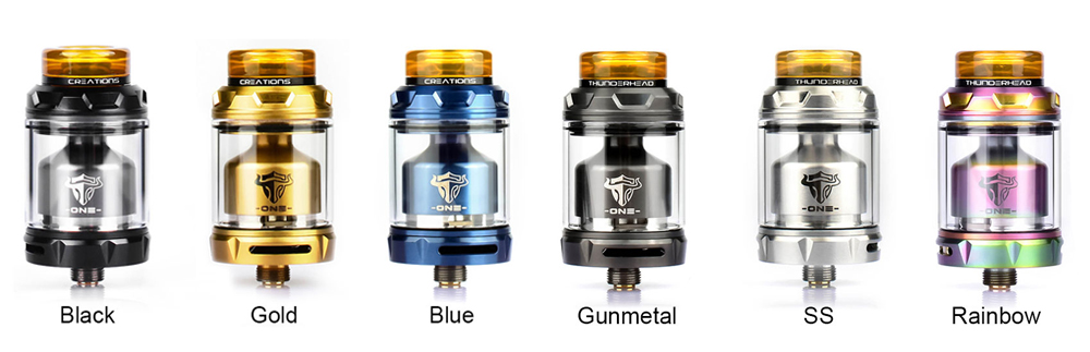 THC Tauren One RTA 6 color