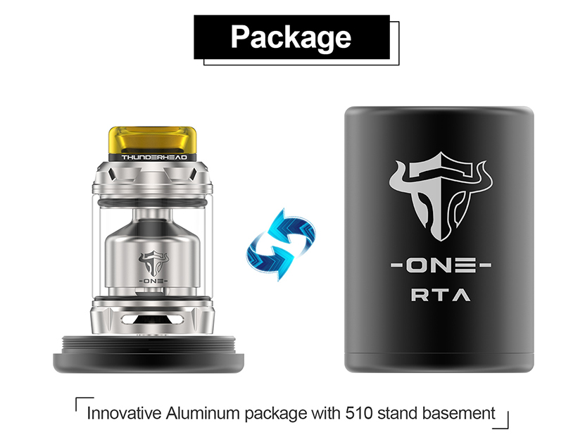 THC Tauren One Vape Tank Package