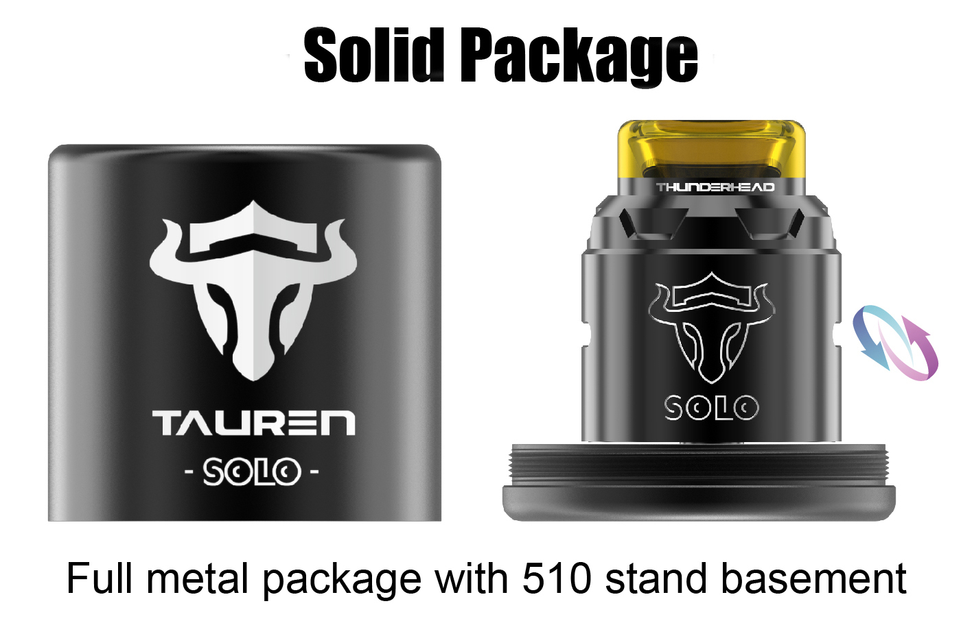THC Tauren Solo RDA Features 8
