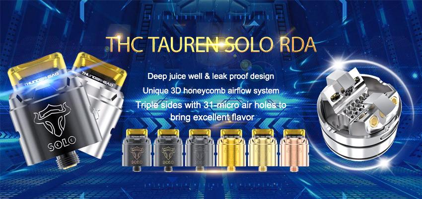 THC Tauren Solo RDA