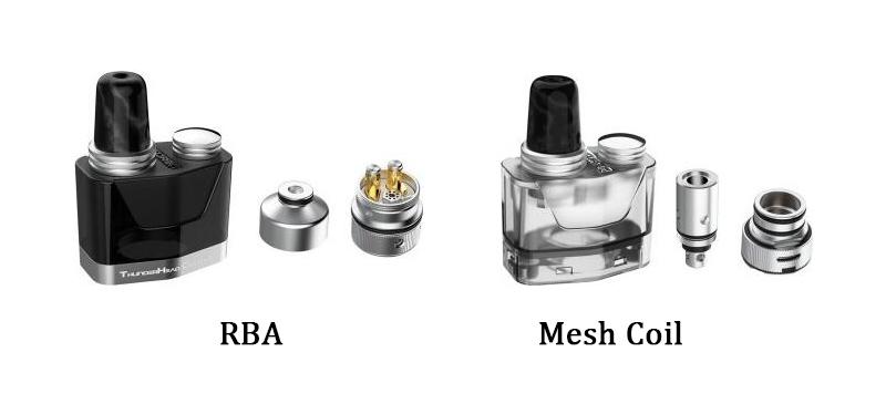 THC Tauren X Pod Cartridge Types