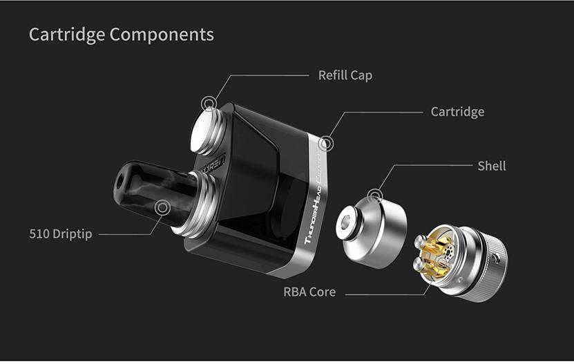 THC Tauren X Pod Cartridge Feature 5