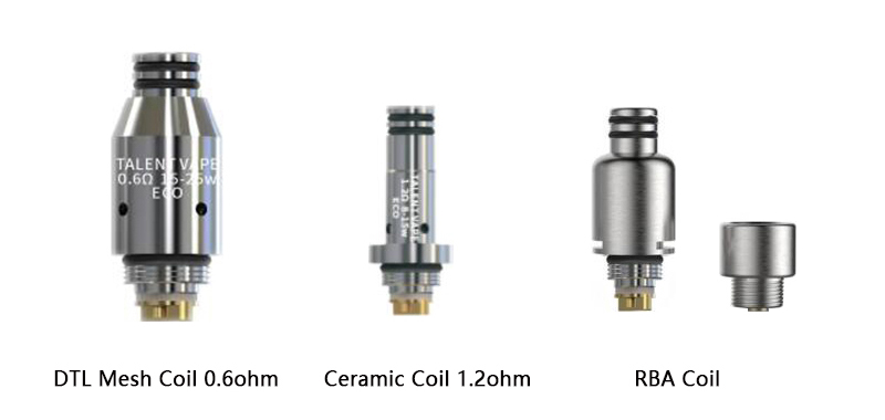 Talent Vape ECO Replacement Coil Types