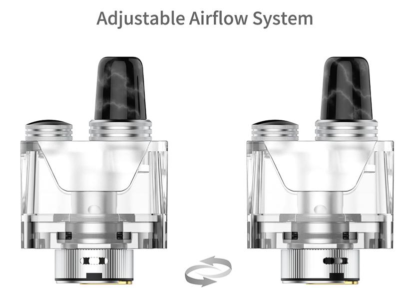 Tauren X Pod Mesh Coil Kit airflow