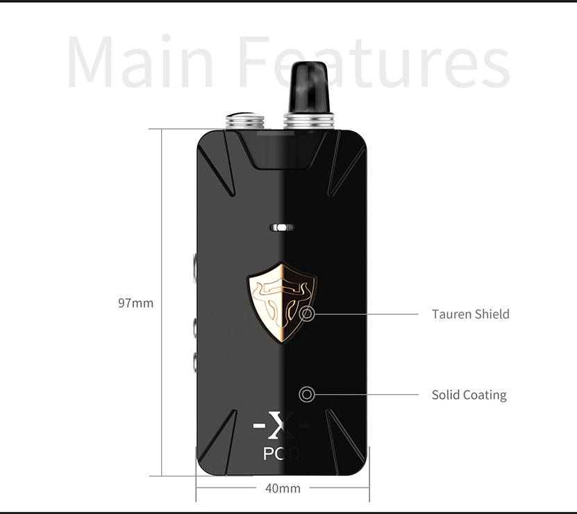 Tauren X Pod RBA Kit Features