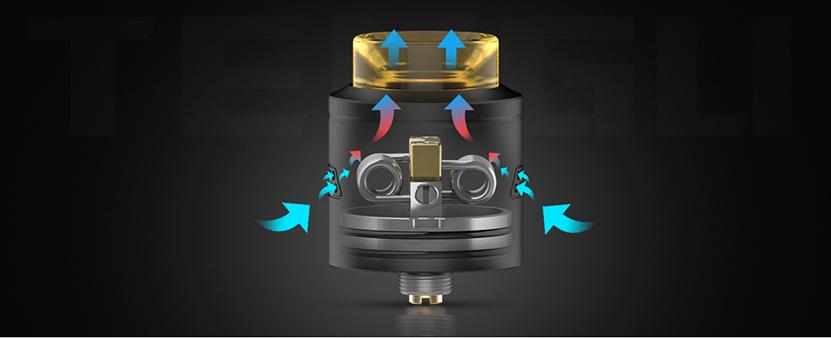 Tengu RDA Atomizer Airflow