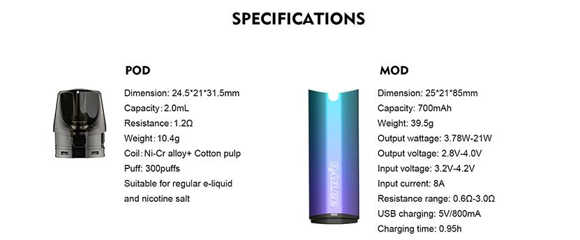 Tesla Dailee Pod Specification