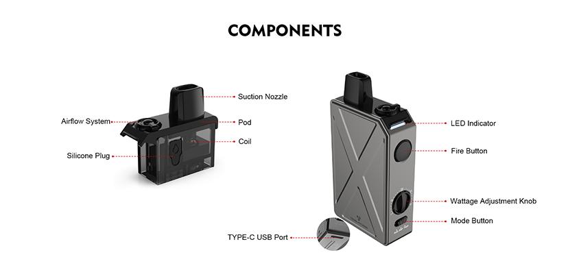 Tesla Invader GT Pod Kit Feature 4