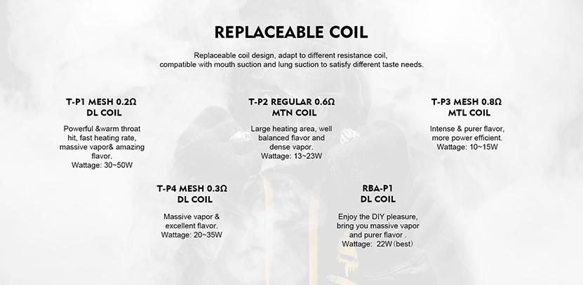 Tesla Invader GT Pod Kit Feature 11