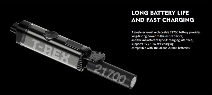 Tesla T-REX Kit battery
