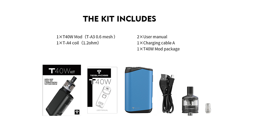 Tesla T40W Kit Features 4