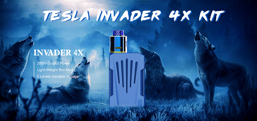 Tesla Invader 4X Kit Banner