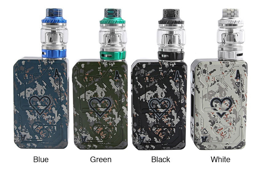 Tesla Poker 218 Kit with Tallica Mini Tank Details