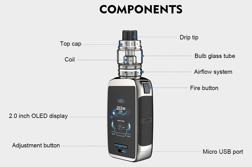 Shinyo 213W TC Kit Components