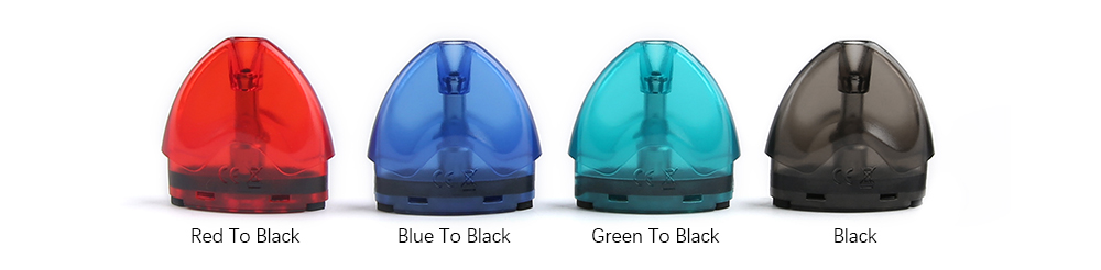 Tesla WYE Pod Cartridge Colors