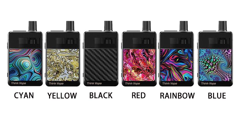 Think Vape OMEGA Kit Colors