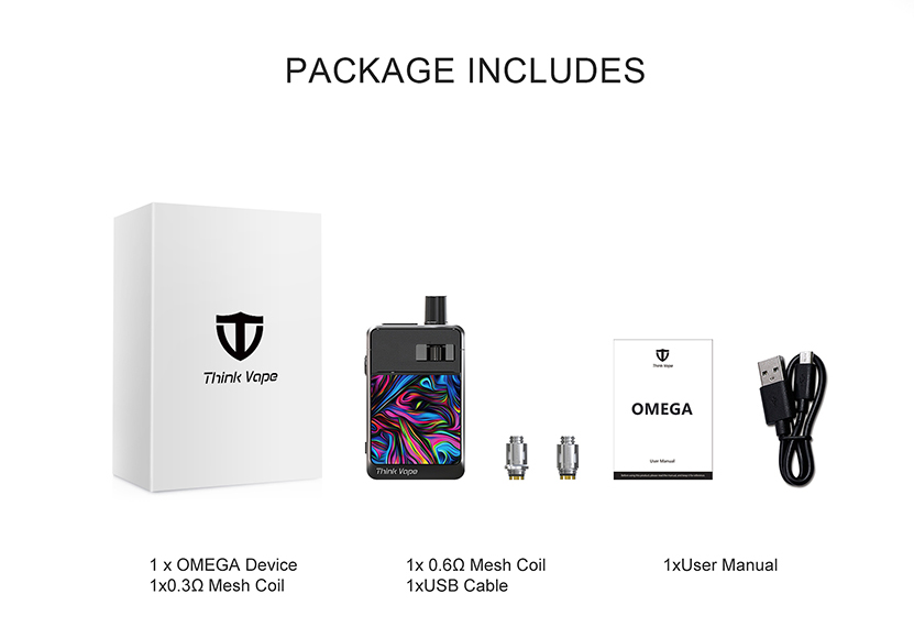 OMEGA AIO Pod Kit Package