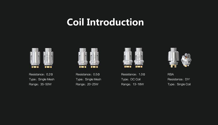Think Vape Thor AIO 80W Kit Coil