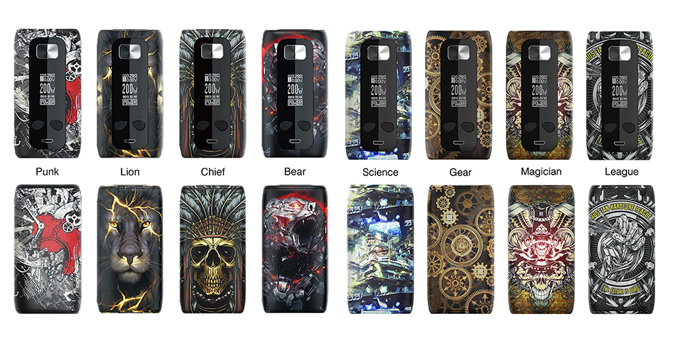 Think Vape Thor Mod Colors