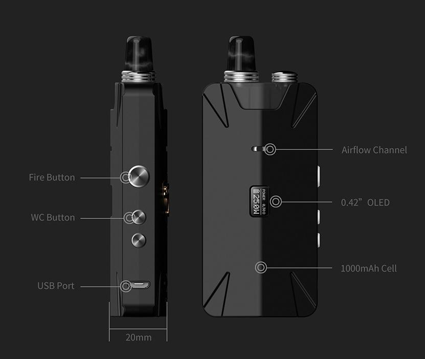 ThunderHead Creations Tauren X RBA Pod Kit Component