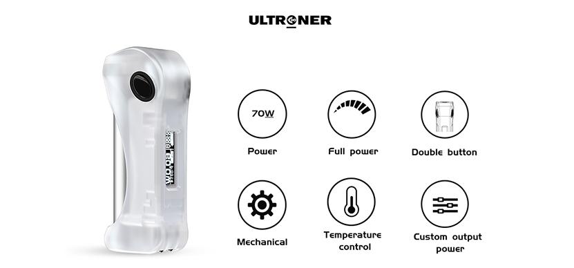 ULTRONER Alieno Mod Features