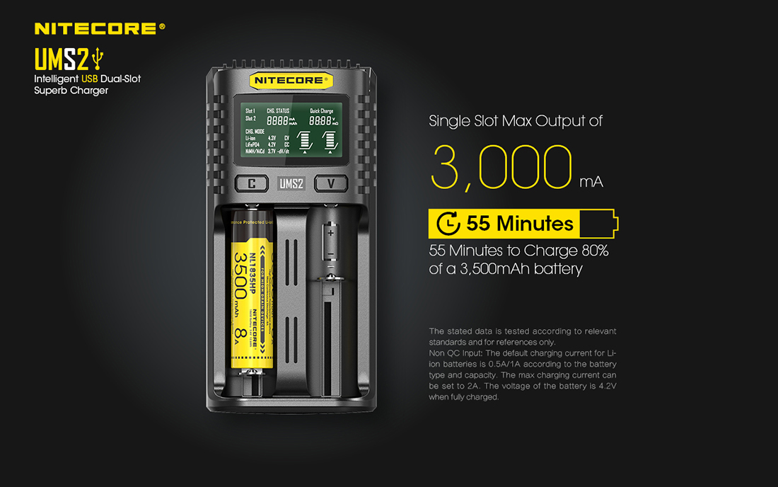 UMS2 Charger 3000mAh1