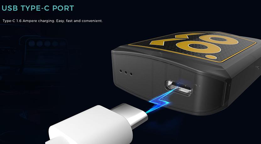 Uwell Caliburn KOKO Prime Vision Pod Kit USB Type C