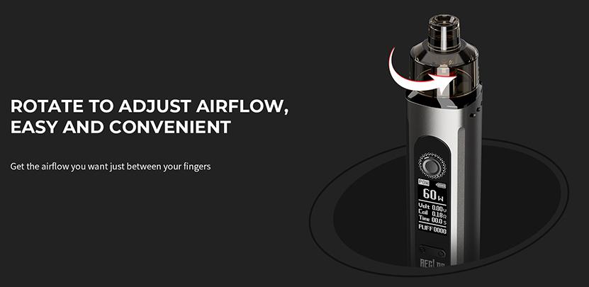 Uwell Aeglos H2 Kit Adjustable Airflow