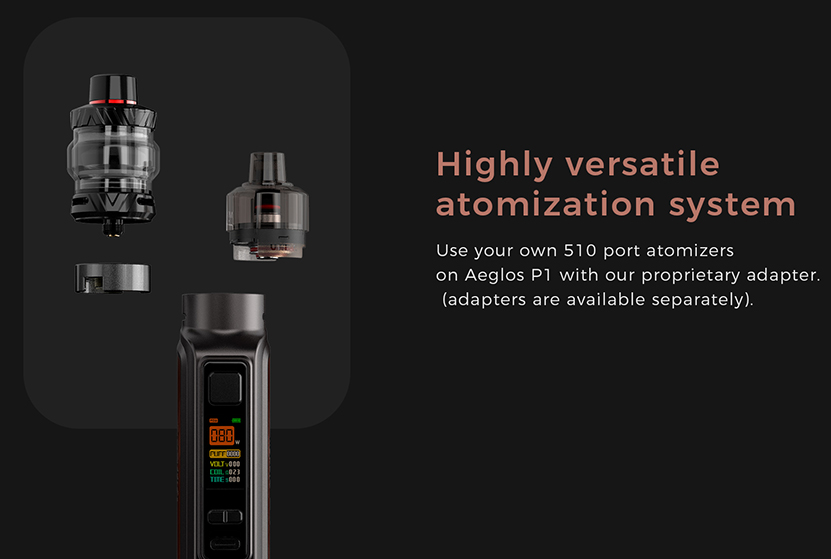 Uwell Aeglos P1 Kit fit any tank you can find