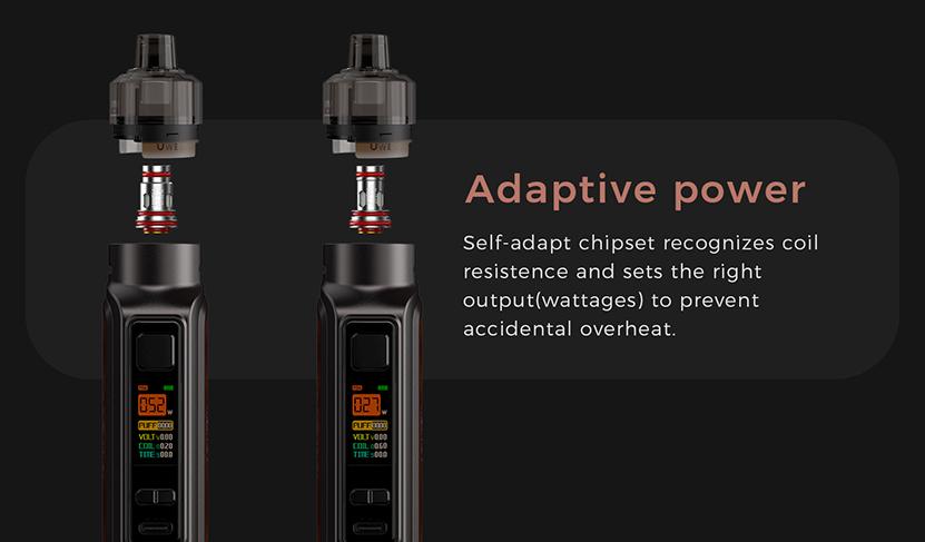 Uwell Aeglos P1 Mod Pod Kit Self-adapt