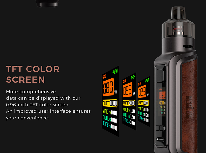 Uwell Aeglos P1 Kit TFT Color Screen