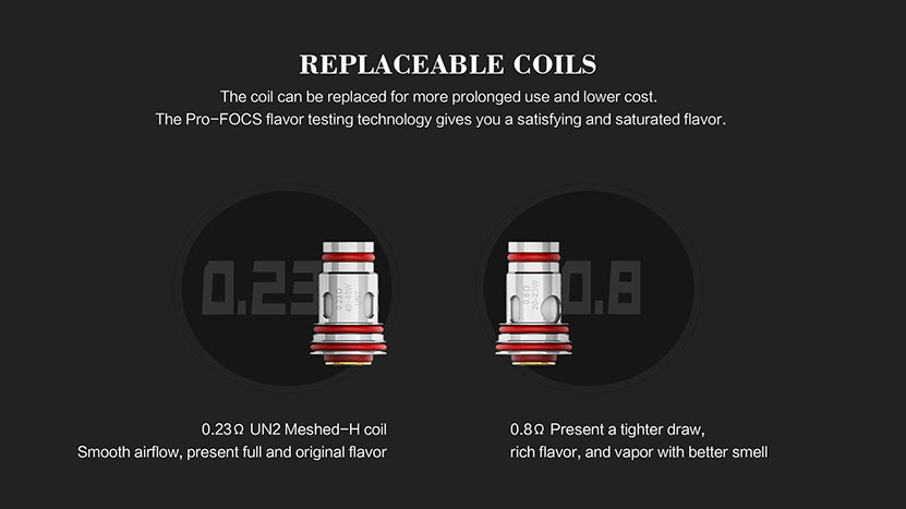 Uwell Aeglos Replacement Coil Two Types